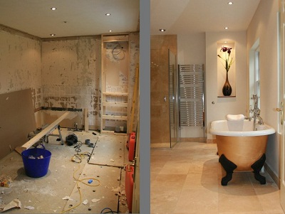 small bathroom pictures before and after home decorating