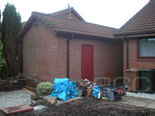 Shed conversion Before